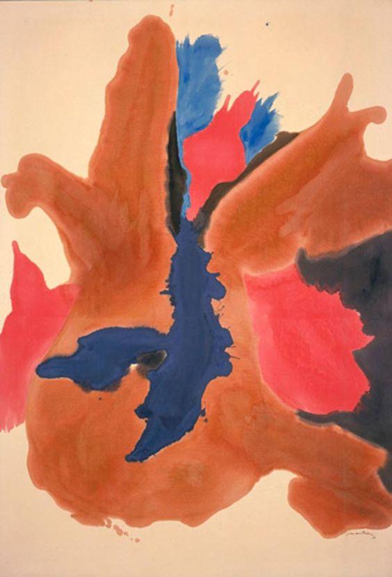 Helen Frankenthaler #dailyconceptive #diarioconceptivo