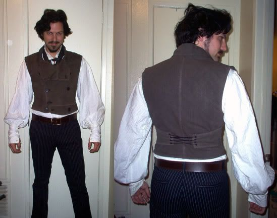 Sweeney Todd Costume Ideas