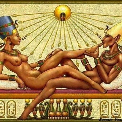 Egyptian Queen and King • Beautiful Black Art: