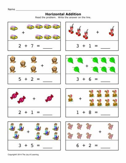 Addition Worksheet For Preschool And Kindergarten Preschool And Kindergarten Addition Kindergarten Kindergarten Addition Worksheets Addition Worksheets