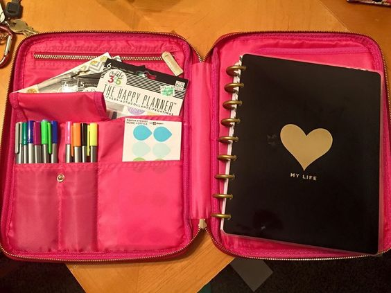 Pinterest the world s catalog of ideas for Happy planner accessories