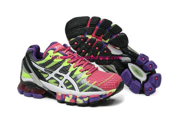 asics gel kinsei 4 womens running shoes mosaic patterns