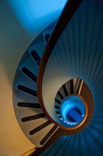 ˚Spiral Stair, Lighthouse - San Diego, California