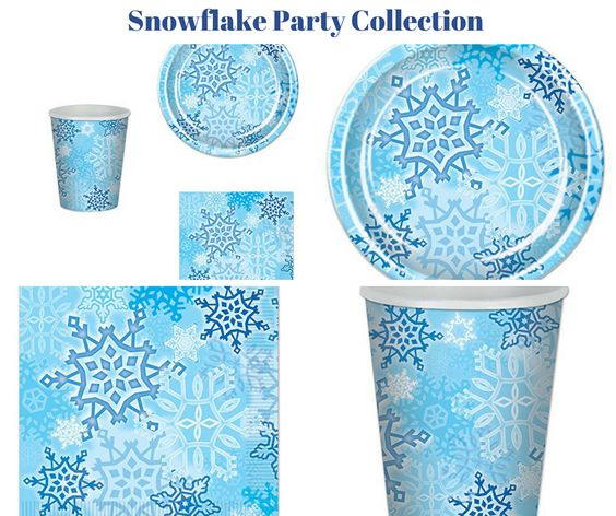 Snowflake Party Banner
