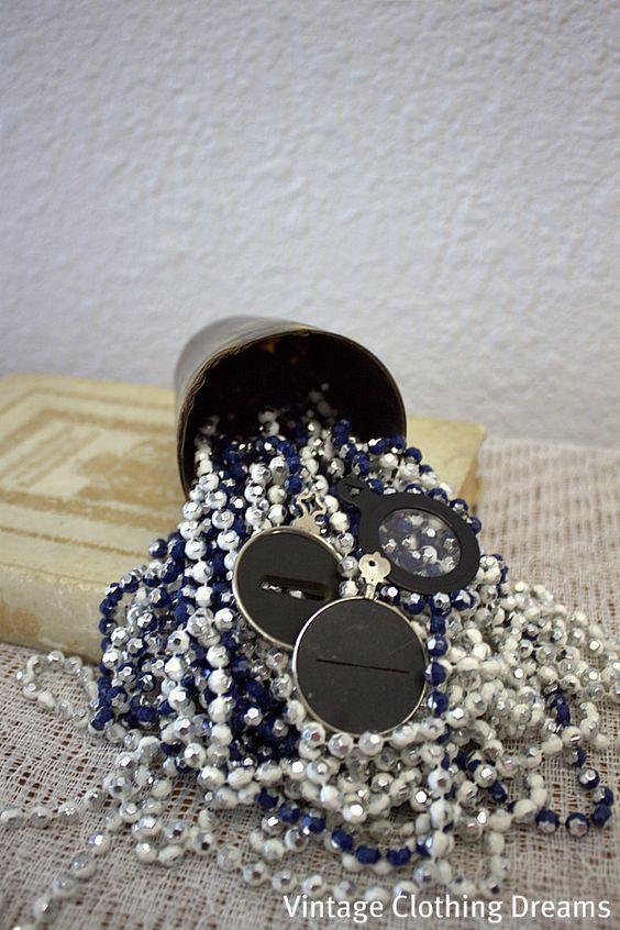 Edwardian Optometrist Lenses , Lot of three Eye Optometrist Glass Tools, Steampunk 13-22.