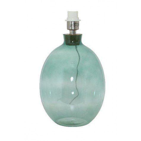 Lampenfuss Ø26x47 cm FOLLONICA glas blau - Light & Living