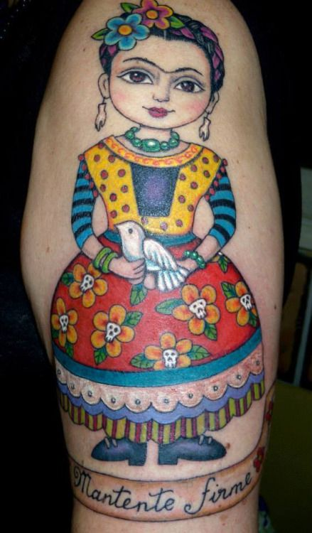 this one is mine :)Frida Kahlo by Ana Lua Tattoo