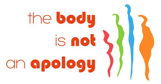 The Body Is Not An Apology - featured in my latest post at http://www.buzzfeed.com/jarrylee/philosophy-pugs#.yd67N3Kp54