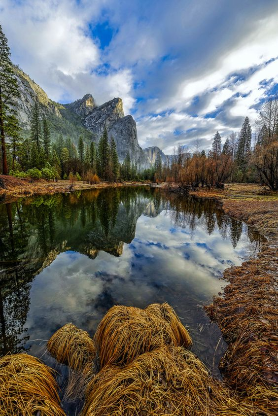 Three Brothers Reflection - Yosemite by Brent Clark on 500px