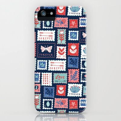 Stamps iPhone & iPod Case by Kristin Nohe - $35.00