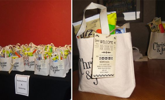 Wedding Hotel Guest Gift Bags: Welcome Bags, Hotel Guest And Brides On Pinterest