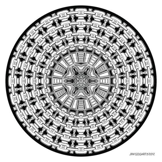 Mandala drawing 41 by Mandala-Jim.deviantart.com on @deviantART
