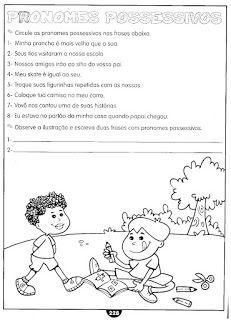 Pronome Atividades Gramatica Exercicios Para Imprimir Atividades