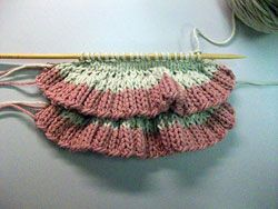 For the Love of Ruffles - several styles of #knitting #patterns