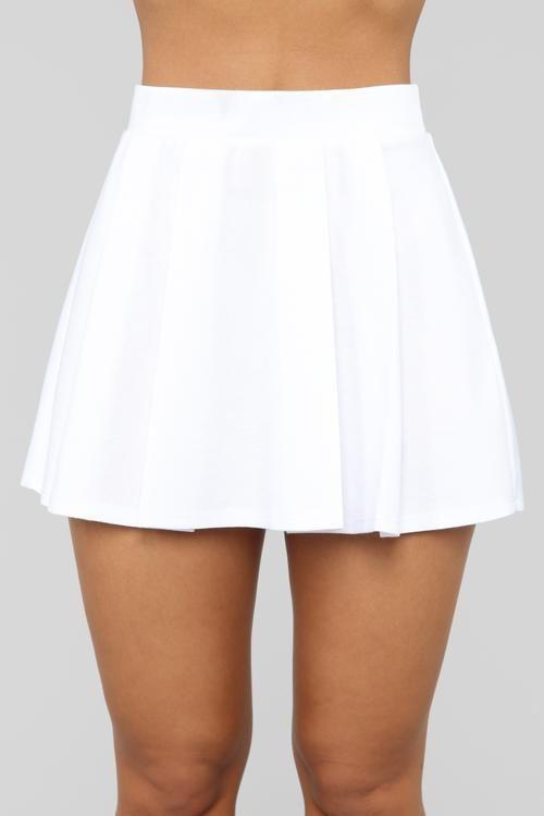 Let S Play Tennis Skirt White Tennis Skirt Outfit White Tennis Skirt White Mini Skirts