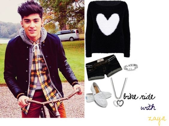 """10) Bike Ride With Zayn"" by my-one-direction-outfits on Polyvore"