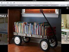 Super cute bookcase!