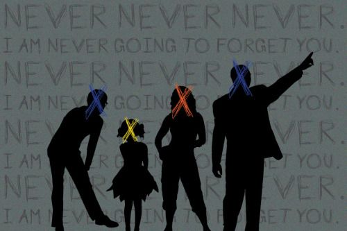 "a-circuit-of-conciousness:  ""Never never never. I am never going to forget you."" - The Darkest Minds Fan art done by a-circuit-of-conciousness"