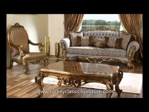Turkish Classic Furniture Saricam Youtube Classic Sofa Sets Classic Sofa Luxury Home Furniture