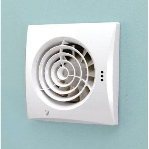 Hush Extractor Fan With Timer Humidity Sensor Luxurybathroomextractorfans With Images Bathroom Ventilation Bathroom Extractor Fan