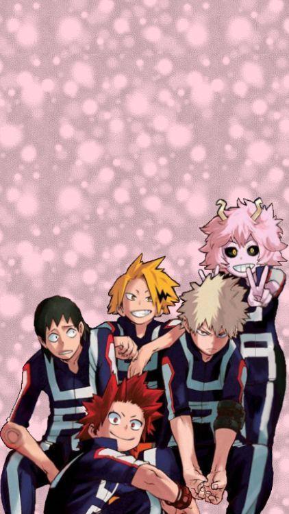 Need A Wallpaper Don T Worry I Got You Bakusquad Hero Wallpaper Cute Cartoon Wallpapers Anime Characters