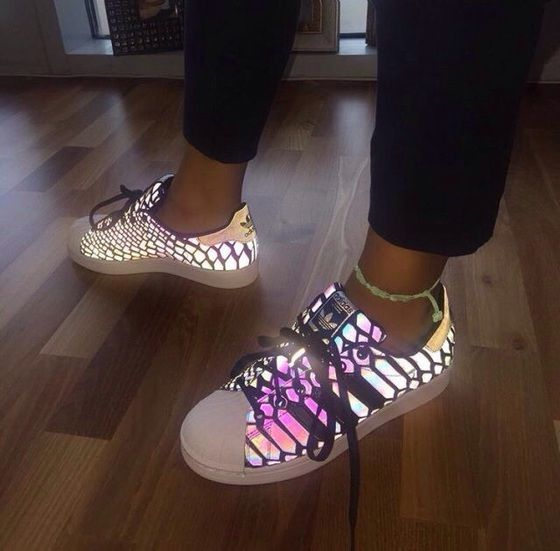 shoes,adidas,glow in the dark,trainers,superstar,neon,originals ...