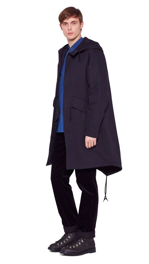 AUTUMN WINTER 2016 COLLECTION - NAVY PROOFED COTTON DRILL MHL ...