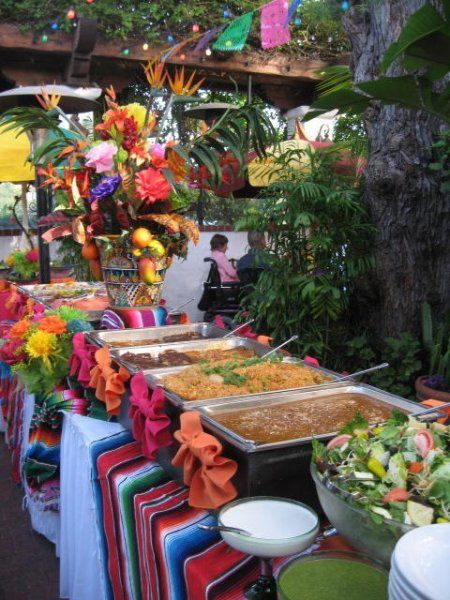 Mexican Fiesta buffet: