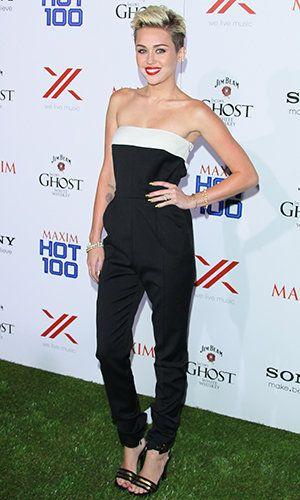Miley Cyrus Keeps It Simple Celebrating Maxim's Hot 100