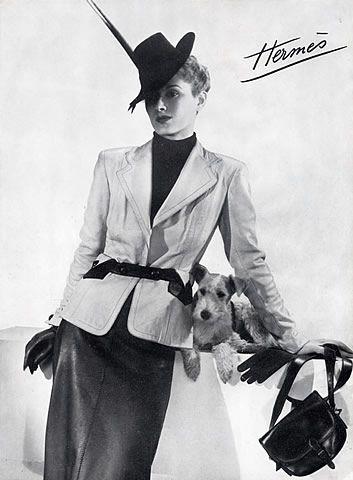 Hermès (Couture) 1938 Fox Terrier Dog  #TuscanyAgriturismoGiratola
