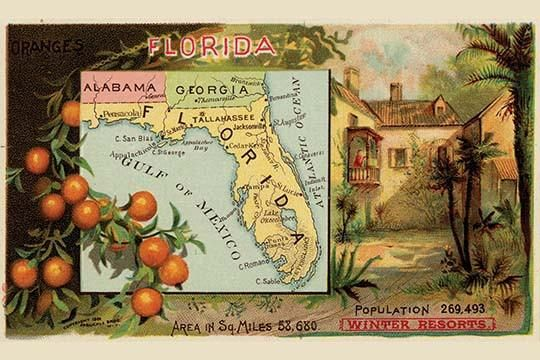 Pictorial State Map. High quality vintage art reproduction by Buyenlarge. One of many rare and wonderful images brought forward in time. I hope they bring you p