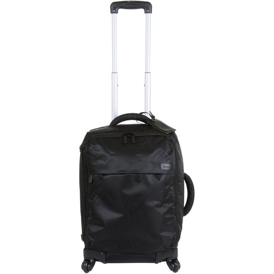 Lipault Paris Upright 4 Wheeled Carry On Trolly, Black, One Size