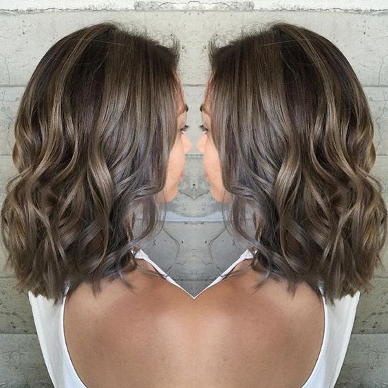 From Uneven Brassy Color To Light Smokey Ash Brown No