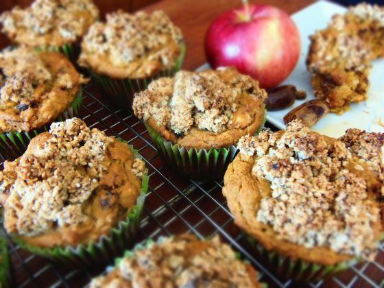muffin patate douces dattes amandes sans gluten