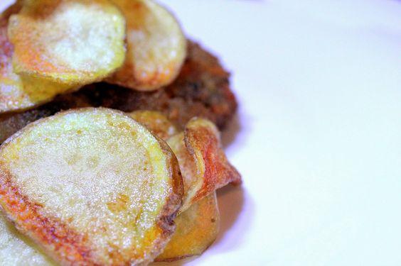 Na cozinha com a Filipa: Humbúrguer de alheira vegetariana