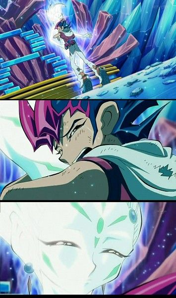 Yuma and Astral from Yu-Gi-Oh! ZEXAL.