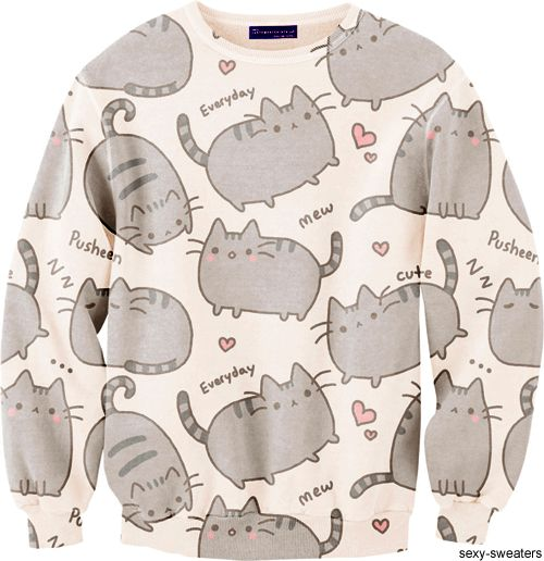 Pusheen sweater NEEEDDD!@Lexi Williamson
