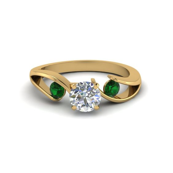 Image result for gold and emerald jewelry