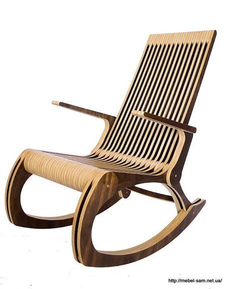 Мебель из фанеры от Felipe Paut