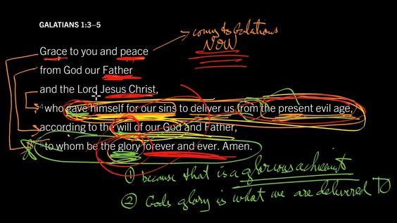 Galatians 1:3–5 // Do You Feel God's Grace and Peace?