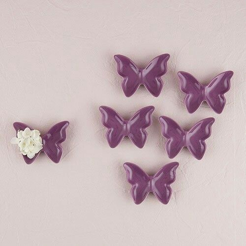Butterfly ceramic dishes