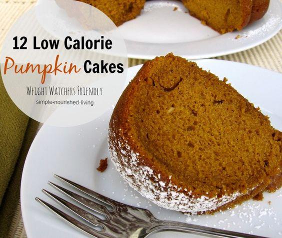 Weight Watchers Pumpkin Spice Bundt Cake