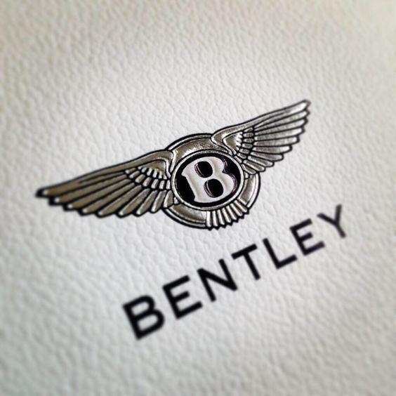 логотип бентли схема вышивки