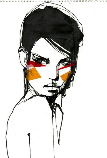 La ilustración coqueta de Stina Persson