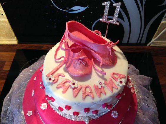 Ballet cake.