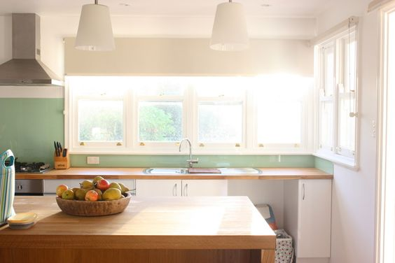 kitchen light, natural and not