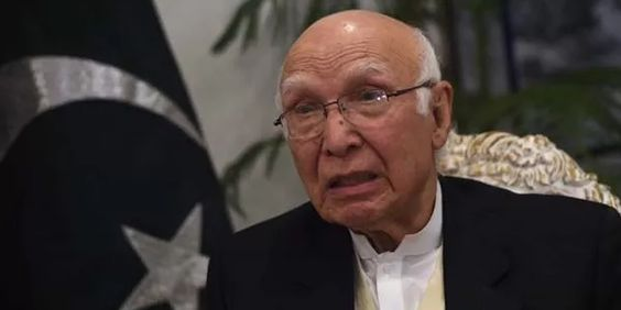 #Pakistan not being isolated internationally; stands on the right side: #Aziz