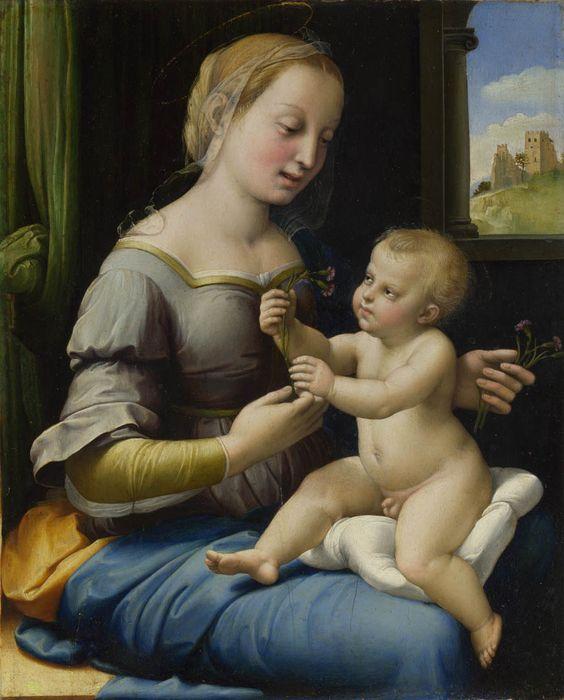 Virgen de las flores o Madonna of the pinks                                                                                                                                                     Más