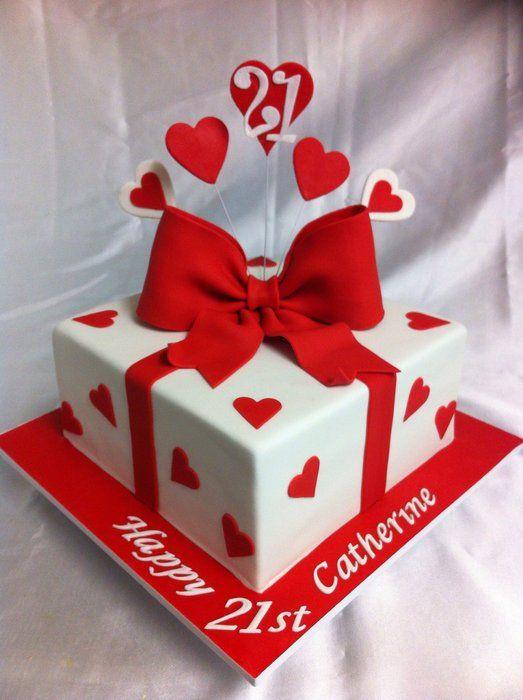Cake Decorating For Valentine S Day : Birthday cakes, Valentines and Birthdays on Pinterest