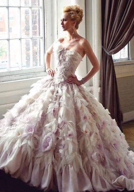 Masquerade wedding dress!!